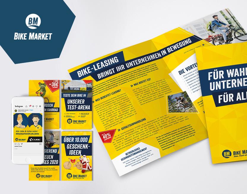 Onlineshop, Kampagnen, Corporate Design & App