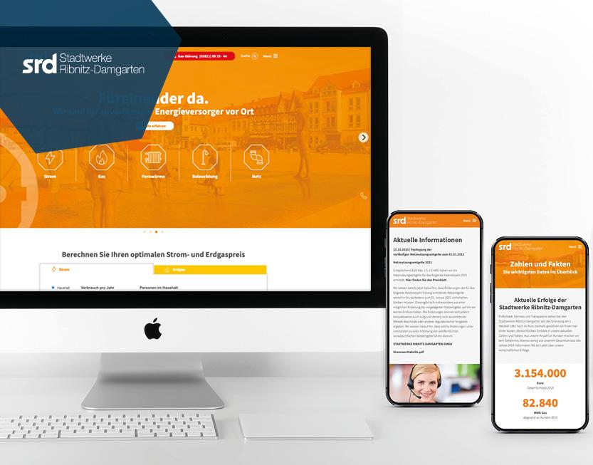 TYPO3 Website & Marketingbetreuung