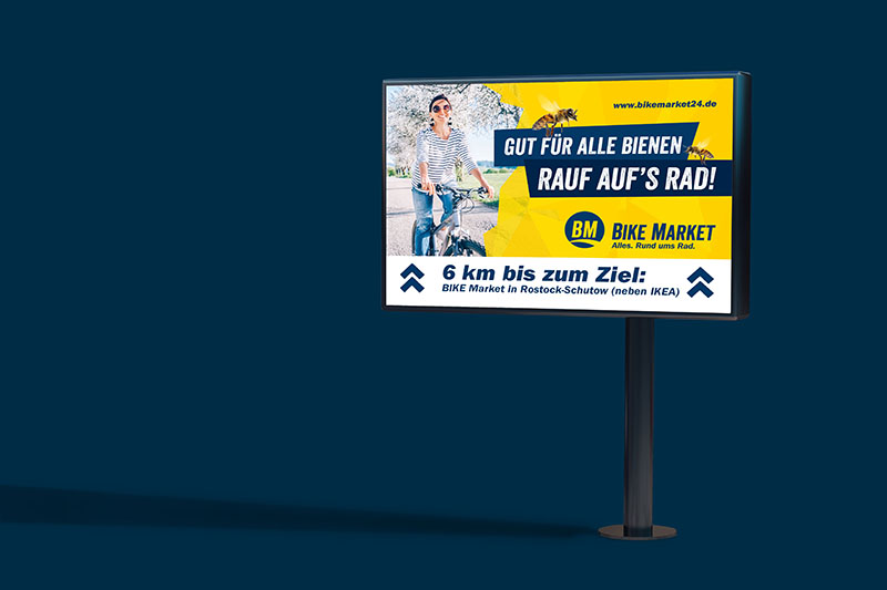Kommunikationsmittel - Out of Home Plakate