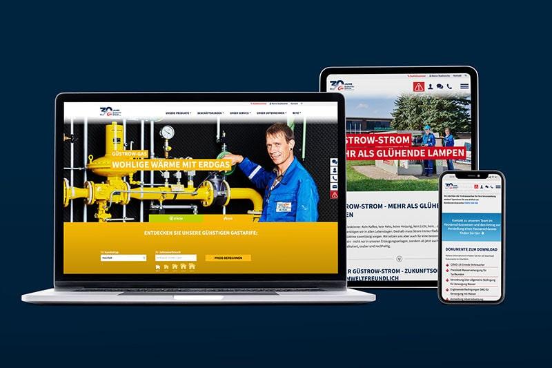 Webdesign, Websites Rostock